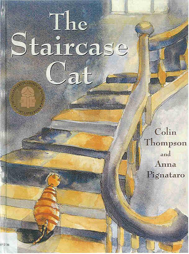 The Children S War The Staircase Cat By Colin Thompson