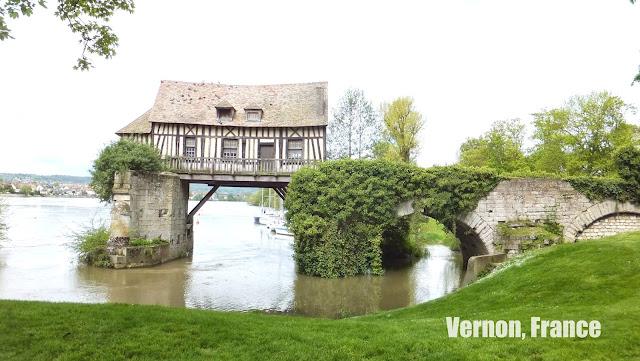 Vernon, Francia, Elisa N, Blog de Viajes Argentina