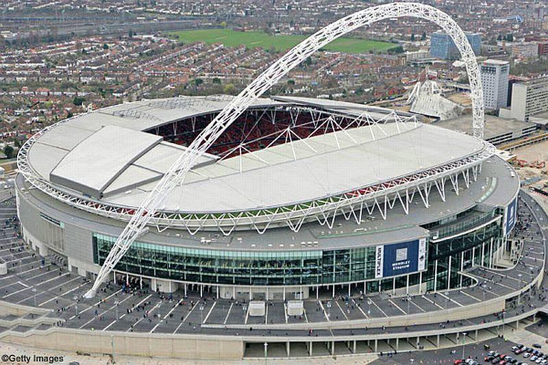 mapa inglaterra wembley Ingeniería y Computación: Wembley Stadium, moderno estadio  mapa inglaterra wembley