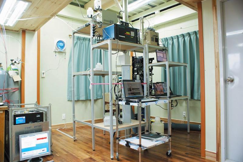 에어로졸 관측장비들