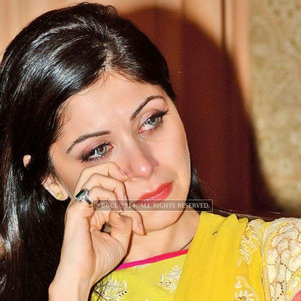 Kanika Kapoor during a conference dedicated to women empowerment, organised by CII Yi, on Malala Day, in Lucknow.