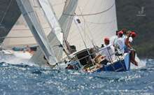 J/30 offshore sailboat- sailing Caribbean regatta