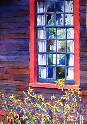 Deane Winthrop's window. Artist of the Month: Paul McMahan