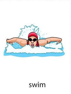 swim%2520 %2520flashcard Verb flashcard