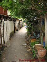 Der Weg durchs Viertel