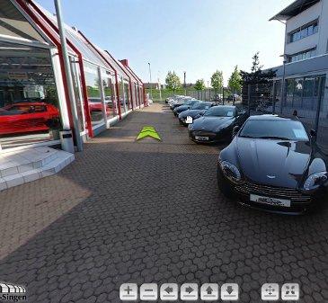 Auto-Salon, stand virtual