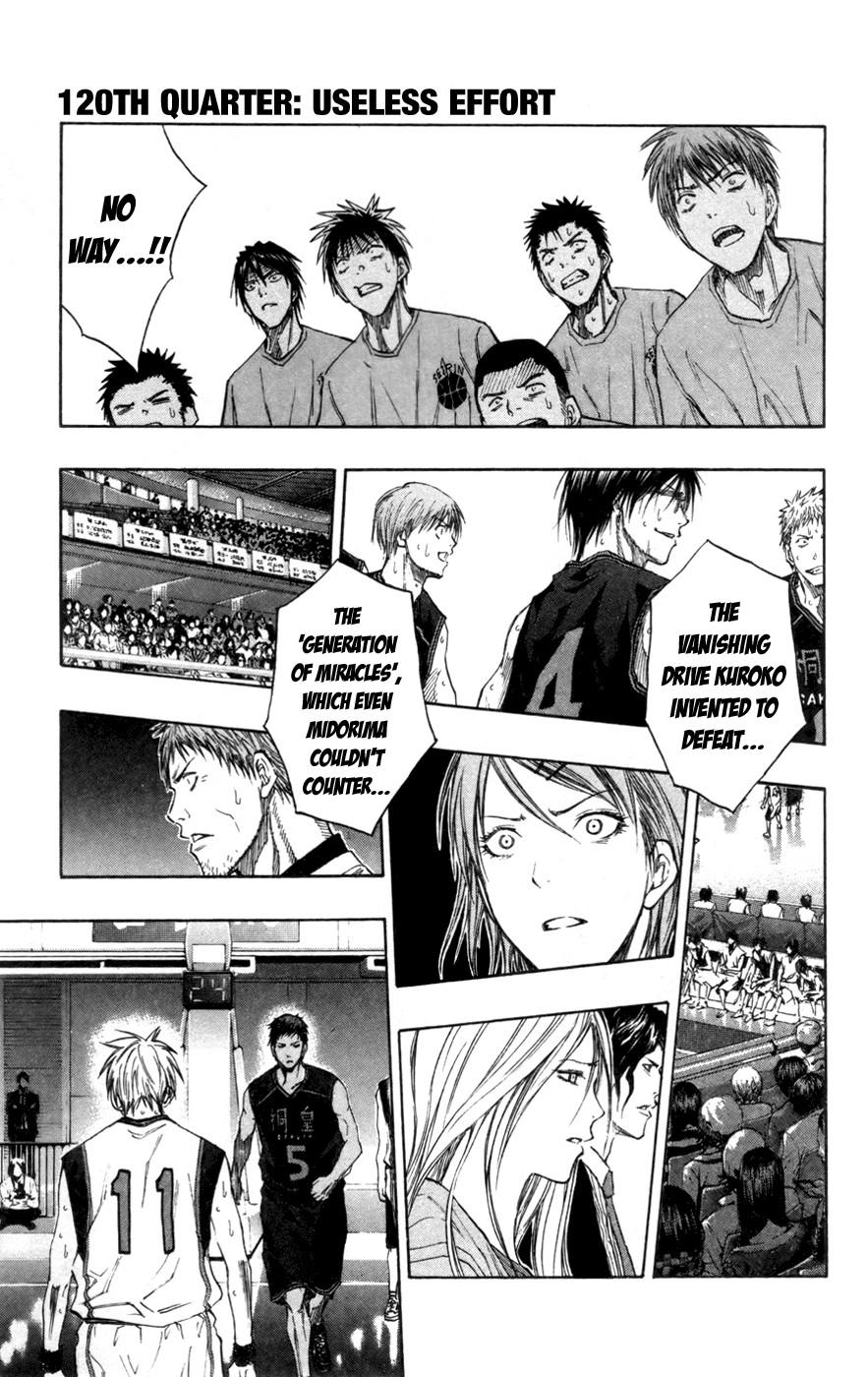 Kuroko no Basket Manga Chapter 120 - Image 1