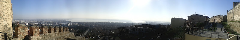 Thessaloniki Panoramic Photo