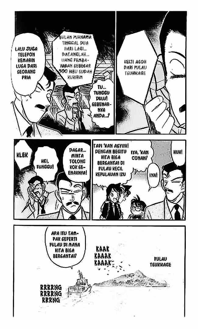 3 Detective Conan   062 Undangan ke Pulau Tsukikage