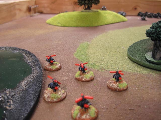 Karl's Deth Koptas hunting on the left flank.