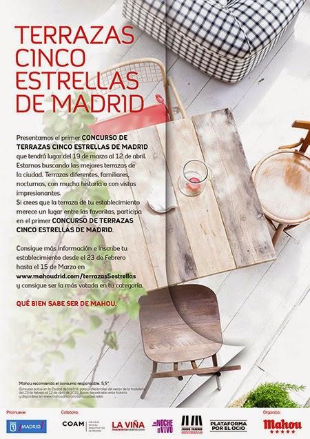 El Ayuntamiento de Madrid y Mahou San Miguel buscan la mejor terraza de la capital