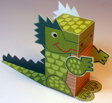 Little Dragon Papercraft