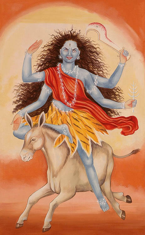 Maa Kalaratri – The Worship of the Fiercest Forms of Godess Durga on 7th Navratri