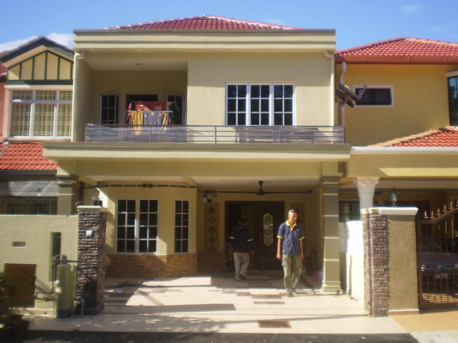 Ubahsuai Dapur Rumah Teres Dua Tingkat Desainrumahid