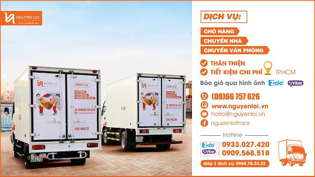 Thuê xe tải chở hàng quận 1