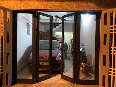 cửa nhôm kính Xingfa nhập khẩu 4 cánh mở quay