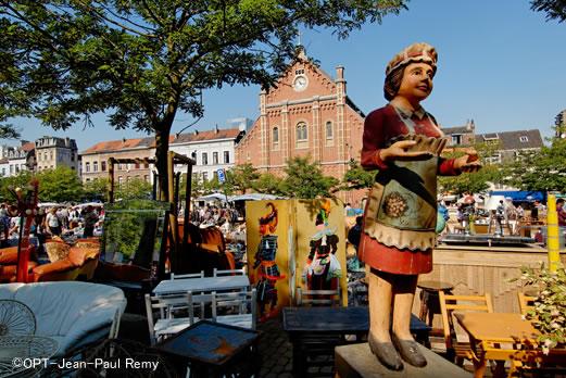 ブリュッセルの街並み/イメージ
