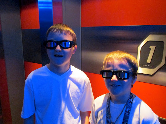 In line for Star Tours