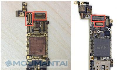 iPhone5S iPhone5 Logicboard MacRumors