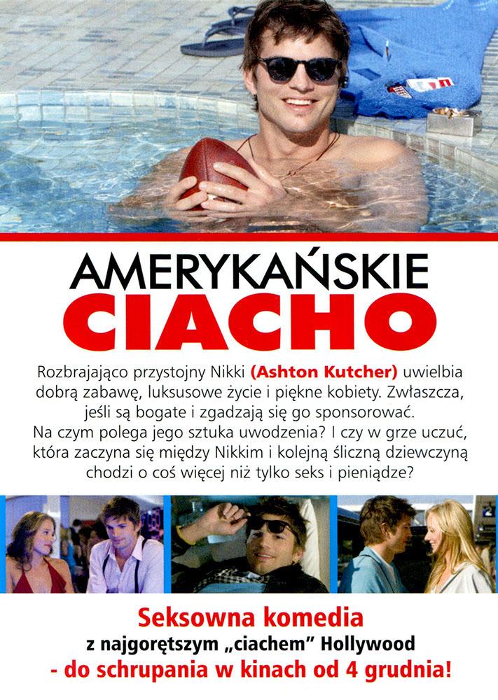 Ulotka filmu 'Amerykańskie Ciacho (tył)'