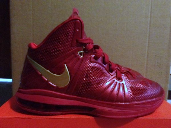 Unseen Nike LeBron 8 Post Season in Wine and Gold 8220CavFanatic8221