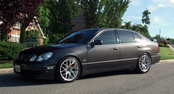 Va Fs Dark Gray 2002 Gs300 Sport Design With Blackwood