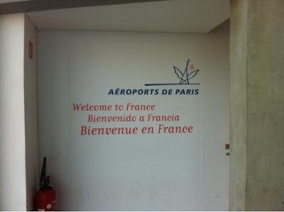 Charles de Gaulle Airport, Paris France www.thebrighterwriter.blogspot.com