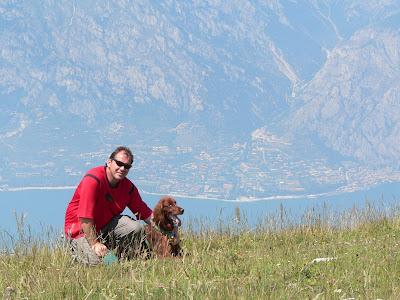 Italien Monte Baldo und Gardasee