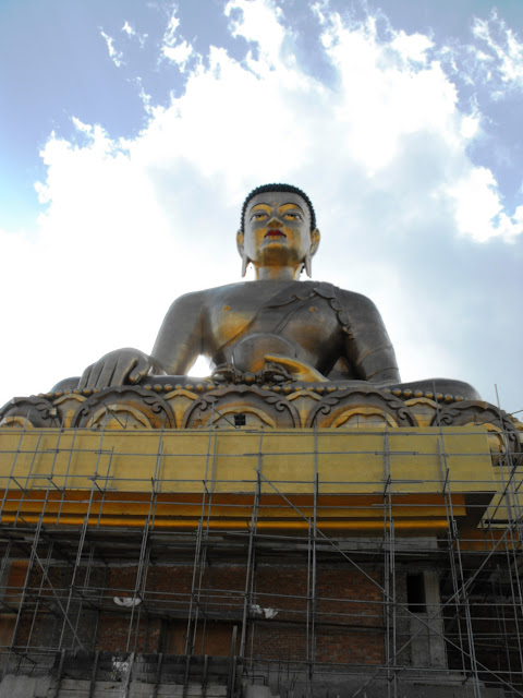 Buddha under construction