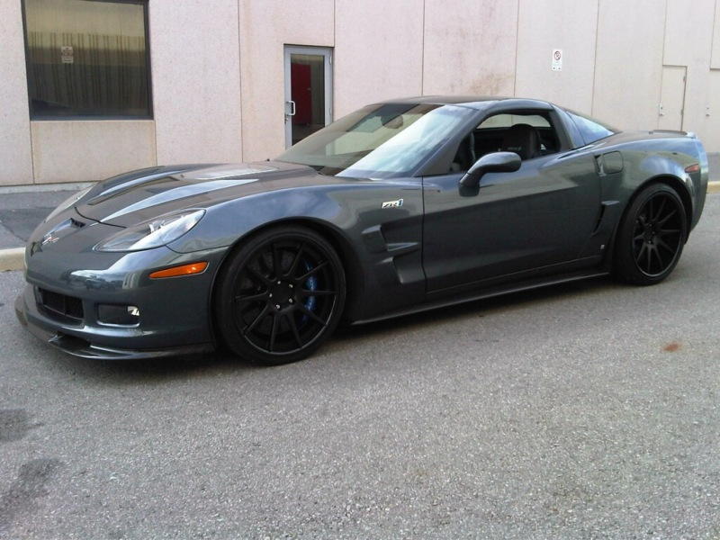 Owners Of Cyber Grey Vette S Do Black Or Grey Wheels Look