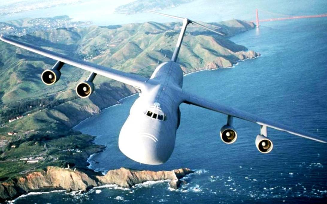 Lockheed C-5 Galaxy aircraft wallpaper 1
