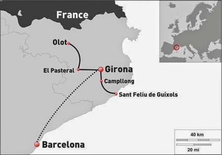 Itinerari Vies Verdes: Del Pirineu a la Costa Brava