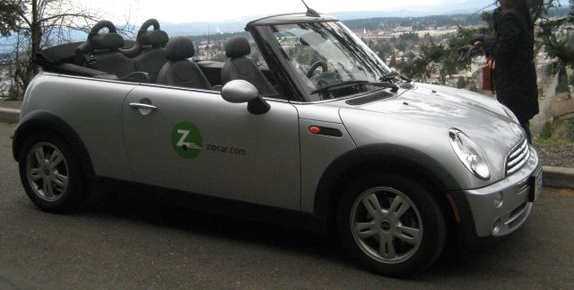 mini convertible zipcar