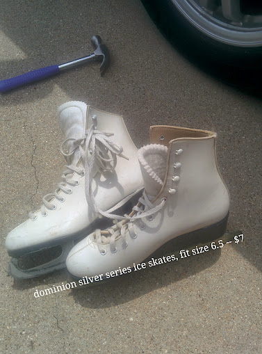 Dominion Silver Series Size 6.5 Ice skates