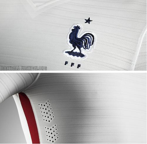 ao bong da - áo bóng đá đội Pháp 2015 - 2016