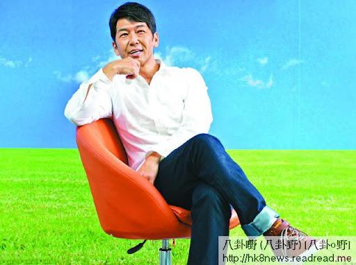 梁健平今年離開無綫,轉投城電,他表示想尋回昔日的親切感。攝影:林德雄