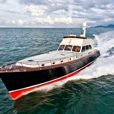 This is slightly different from the ultra-modern superyachts we normally feat...