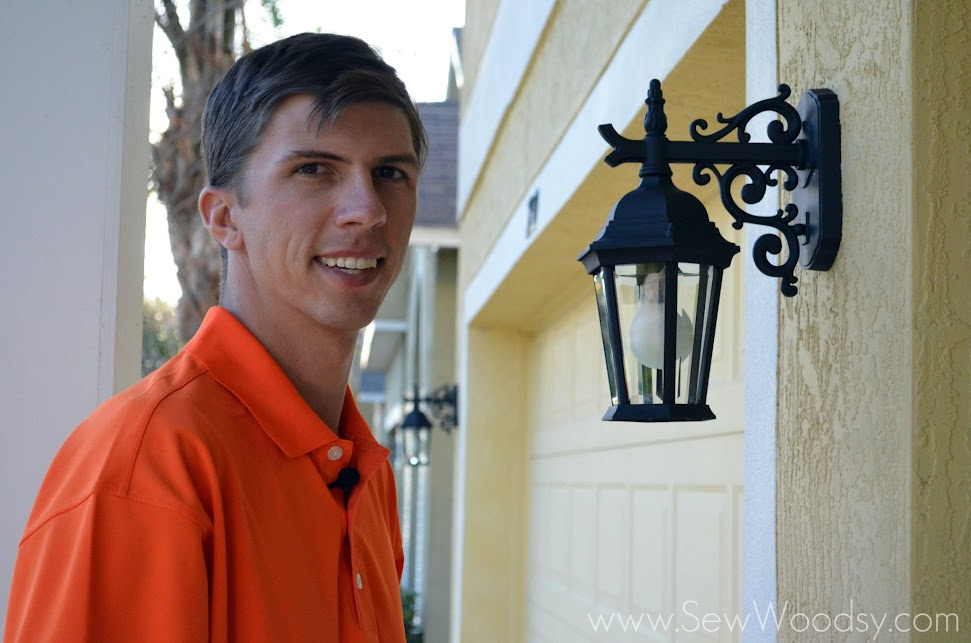 {Video} Restoring Outdoor Lighting for Spring for Homes.com via SewWoodsy.com