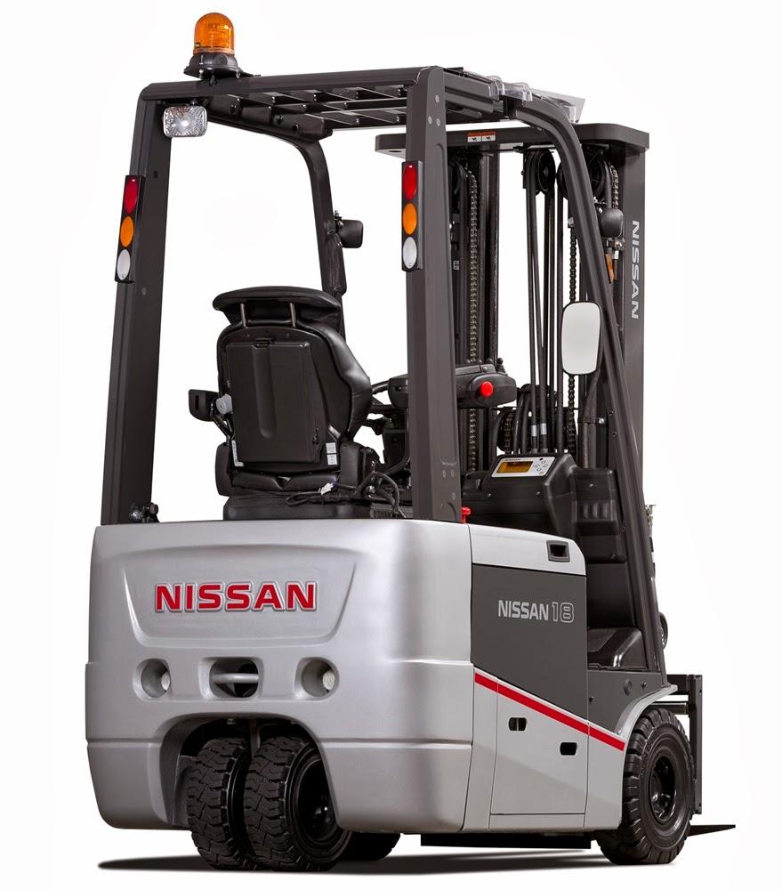 xe nang dien Nissan