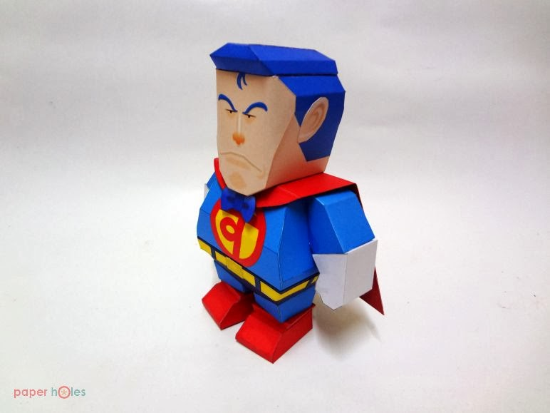 Suppa Man Papercraft