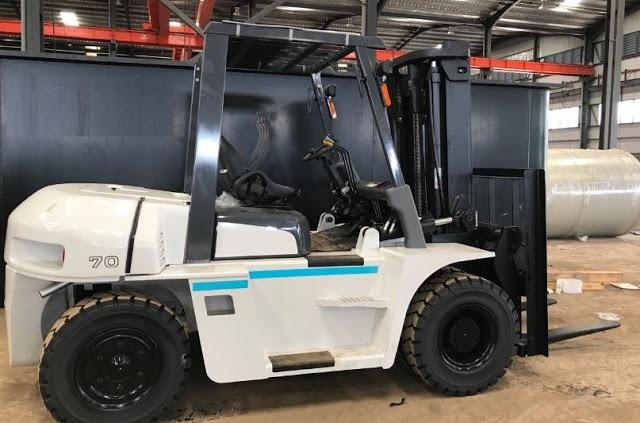 Xe nâng hàng 6 - 10 tấn Nhật Bản