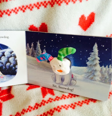The Snowman and The Snowdog Finger Puppet Book Review - Emma in Bromley
