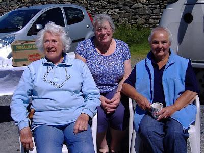 Anne Clifford, Margaret Boothroyd & Joan Weir