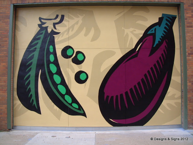 Architectural Murals - Whole Foods Pittsburgh