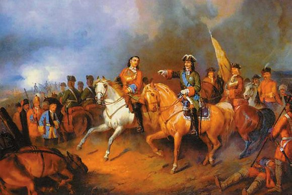 Полтавская битва, InGreen
