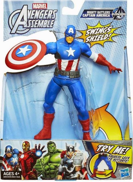 Đội trưởng Mỹ Captian America phiên bản chiến đấu được làm từ chất liệu nhựa cao cấp