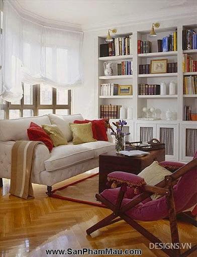 Các mẫu thiết kế nội thất phòng đọc sách P1-8