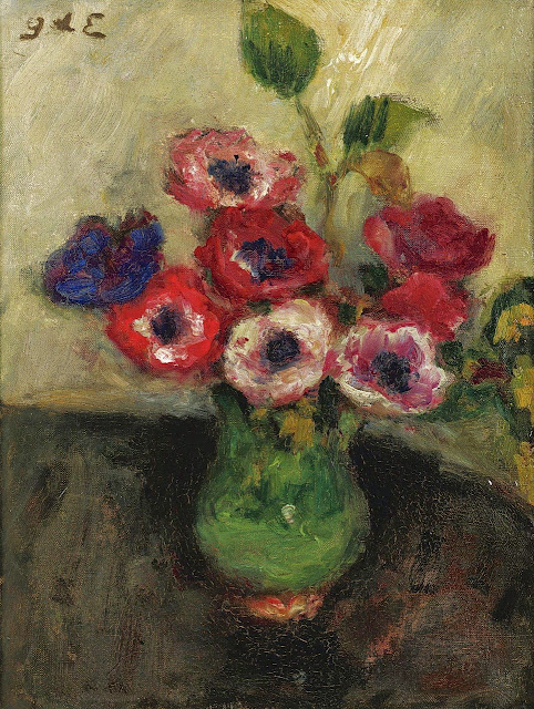 Georges d'Espagnat - Vase with Anemones