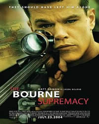 Best secret service movies: Bourne Film Series