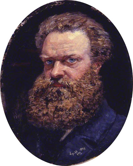 John Edward Brett - Self portrait (1883)